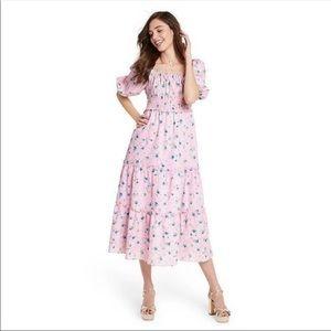 LoveShackFancy Sabina Midi Dress XS